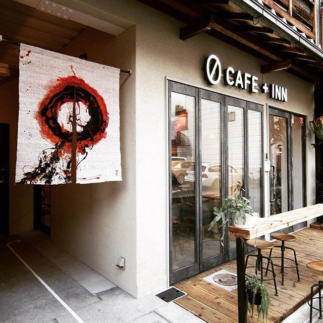 ゲストハウスとギャラリーカフェ「ゼロカフェイン」#gion #cafe #guesthouse